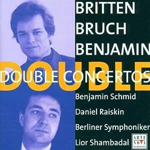 Bruch/Britten/Benjamin - Double Concertos
