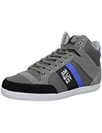 Jim Rickey Carve Mid Suede Mesh, Baskets mode homme