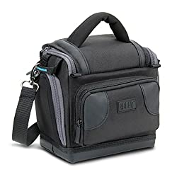 USA Gear Deluxe Digital SLR Camera Case Bag With Padded Interior Lining - Works with Nikon D5500 , D750 , D810 , P530 , P600 , L830 , D610 , D5300 , D3300 , D7100 and More Nikon Cameras