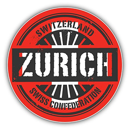 zurich-switzerland-world-bandiera-timbro-art-decor-adesivo-paraurti-12-x-12-cm