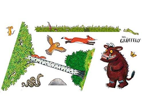 Wandtattoo Grüffelo-Leben in den Wald Aufkleber Set,