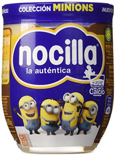 Nocilla La auténtica - (Duo) Doble Crema de cacao y leche con avellanas, 400 g