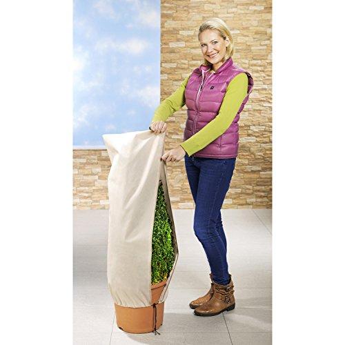 Wenko 2Matratzenschonbezüge Schutz für Pflanzen–Beige–50x 100cm.