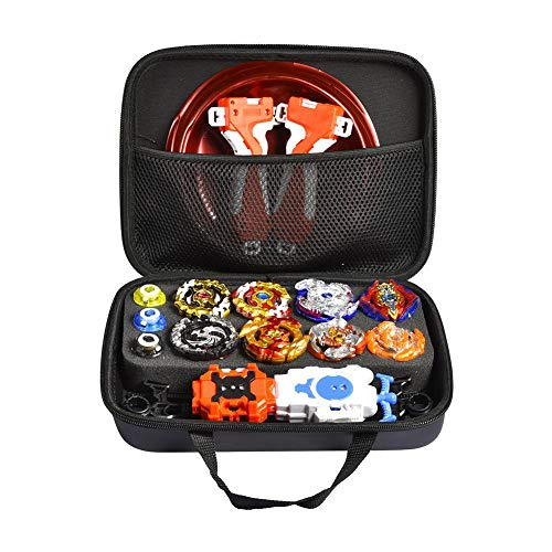 Maliyaw Traje Gyro, Battle Tops Case Toy Set para niños, Stadium Beyblades Burst Launcher Battle Set - Embalaje de Caja de Almacenamiento para organizar