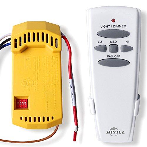 Deckenventilator Fernbedienung und Empfänger komplett Kit CFL LED ersetzen Hampton Bay/Hunter - Deckenventilatoren Hampton
