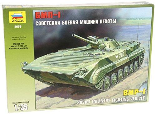 Zvezda 500783553 - 1:35 Russische BMP-1 Panzer