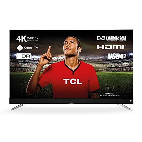 TCL U60P6026 - Smart TV de 60' (Serie P60, Ultra HD, HDR) Color Negro