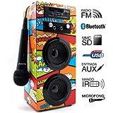 Reproductor JoyBox Karaoke Bluetooth Comic Biwond