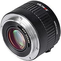 Viltrox C-AF 2X Vergrößerung Tele Extender Autofocus Mount Objektiv für Canon EOS EF Objektiv für Canon EF-Objektiv 5D II 7D 1200D 760D 750D DSLR-Kamera