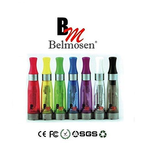 Verdampfer Atomizer für e Zigaretten mit Tanksystem und langem Docht in 7 Farben! ... (10 Verdampfer Sparpack, Bunter Farbmix)