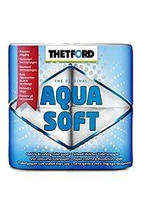 Thetford Aqua Soft Toilet Rolls for Porta Potti, 4 rolls