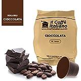 50 Cápsulas de Café compatibles Nespresso sabor de Chocolate, 50 Cápsulas compatible con maquinas Nespresso, Paquete de 5x10 por un total de 50 Capsules, 50 cápsulas café soluble, Il Caffè italiano