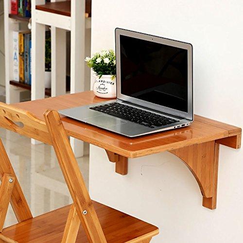 Holz Wand hängen Klappbare Esstisch Beistelltisch Wand montiert Computer Schreibtisch Büro Tisch ( größe : 80*45cm )