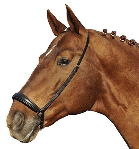 HKM Reithalfter -Hannover-, schwarz, Pony