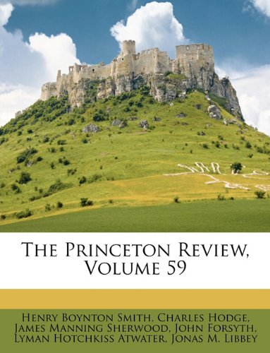 The Princeton Review, Volume 59