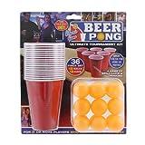 36-teiliges Set Beer Pong Spiel - Stag & Hen Parties - Weihnachten - Ferienspiele.
