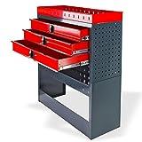 DEMA Kfz Regalsystem/Einbauregal / 3 Schubladen Test