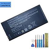 Batteria sostitutiva BV-T4B 3000mAh 3.8V 11.4Whr Compatibile con Microsoft Lumia 640 XL RM-1062 Nokia Lumia 640 XL