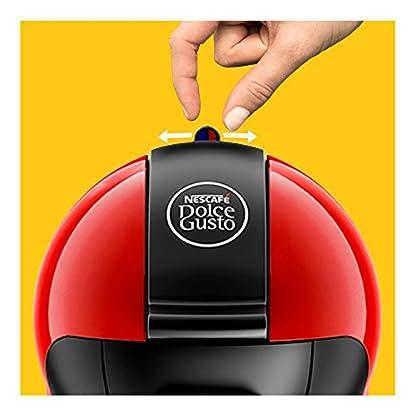 Krups-KP-1006-Nescaf-Dolce-Gusto-Piccolo-Kaffeekapselmaschine-manuell-rot-Zertifiziert-und-Generalberholt