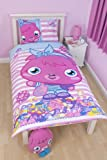 Character World - Juego de funda para edredón y almohada (reversible, 135 x 200 cm), diseño de Moshi Monsters