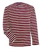 Saint James Meridien - Streifenshirt - Bretagne-Shirts PERSAN Ecru (XL)