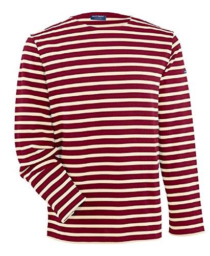 Saint James Langarm Shirt Meridien Modern PERSAN ECRU