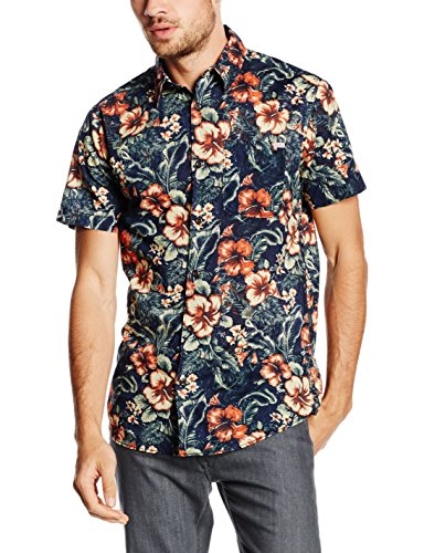 Jack & Jones Delano, Chemise Casual Homme Multicolore - Multicoloured (Bossa Nova)