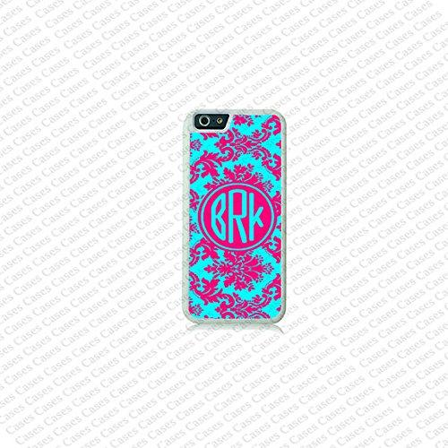 Krezy Case Damask Pattern Monogram iPhone 6 Case, Heavy Duty iPhone 6 Case, Custom iPhone 6 Cases, Cute monogram iPhone 6 Case