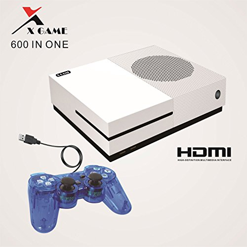 Classic Game Mini Station,X-Game Retro Game Consoles Entertainment System With 600 Games X-games