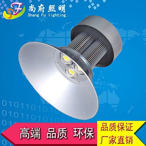 PinWei_ LED ad alta illuminazione baia pianta fabbriche lampada 150W officina magazzino parcheggio centro commerciale (Legno Della Struttura Del Soffitto Apparecchio Apparecchio)