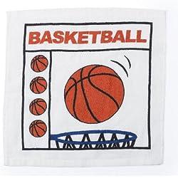 Toallita 30x 30cm de baloncesto
