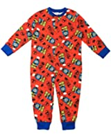 Kids Boys Incredible Hulk Ultimate Spiderman Avengers Assemble Batman Buzz 100% Cotton Onesies Pyjamas Superhero Pj's Sleep Suit Size 4-10 Years