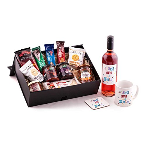 Best Mum in the World gift Hamper - With Rose