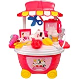 Toyshine Bucket Cum Trolley Nursing Set Play Cart Pretend Play Set Toy