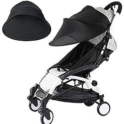 Habillage pluie confort universel pour tous types de poussettes, poussettes cannes ou poussettes 3 roues   bonne circulation de l'air, montage facile, sans PVC