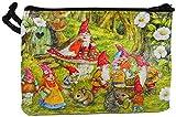 Accessoires Strand Portemonnaie Gartenzwerg Zwerg 7,5 x 11 cm Geldbörse Deko GG 8217
