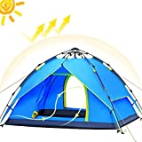 2win2buy Camping Zelt 2-3 Personen [2 Türen] Einfach Pop up, Wasserdicht...