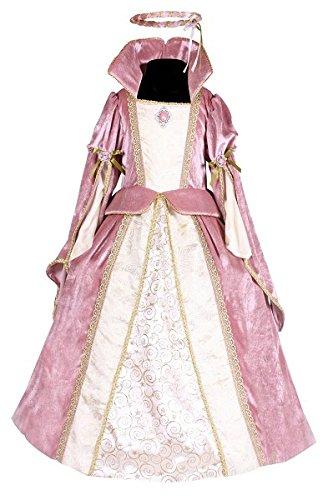 Rosa Fantasy Märchen Kostüm - Thetru 2117 Kinderkostüm Prinzessin Deluxe Mädchen