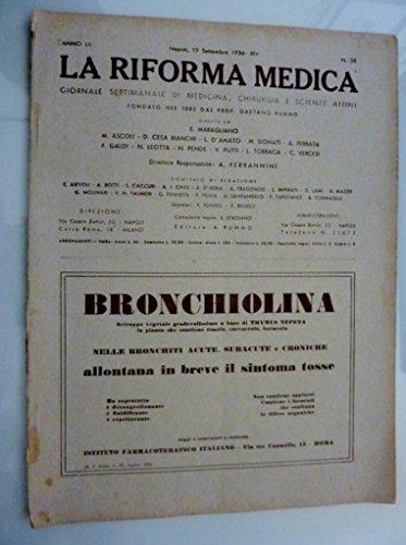 la-riforma-medica-giornale-settimanale-di-medicina-chirurgia-e-scienze-affini-anno-lii-napoli-19-set