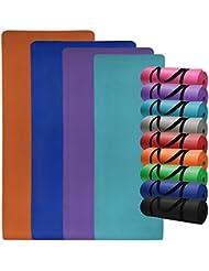 Yoga-Matte in vielen verschiedenen Größen und Farben rutschfest phthalatfrei für Gymnastik Turnen Pilates extra dick