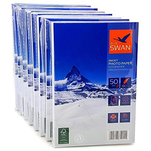 400 Blatt Fotopapier 10x15 cm 180g hochglanz wasserfest einseitig