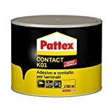 Pattex Contact K01 colla adesivo a contatto laminati compensato lamiera 1750ml