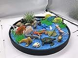 The Sea World Sandbox, Una Nuova Generazione di Mini Giardini Zen da Tavolo per Interno, Regalo Perfetto per Rilassamento e Meditazione, Zen Garden per Bambini, Ragazzi e Ragazze