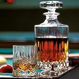 RCR OPERA Whisky-Set 7-tlg. - 1 Karaffe + 6 Gläser aus italienischem Kristallglas