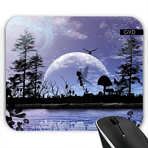 Mousepad - Wunderbare Fee In Der Nacht by nicky2342