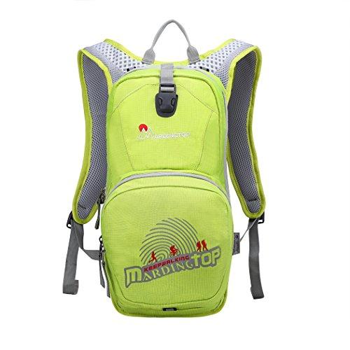 Mardingtop Fahrradrucksäcke Fahrrad Schulter Rucksack Wander Reisetasche Backpacks für Outdoor Radsport Reiten Bergsteigen Obst Gr¨¹n