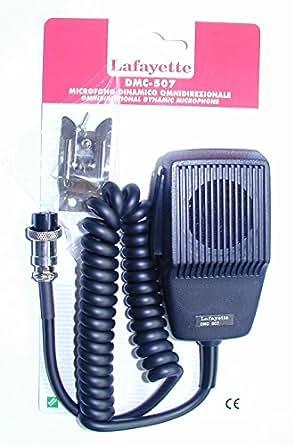 lafayette dmc 507 mikrofon f r cb 05800200. Black Bedroom Furniture Sets. Home Design Ideas