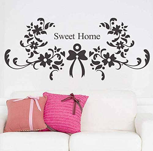 Stycars®, Wall Stickers, 33X150CM Ka To Branch Butterfly Flower Crown Bedroom DIY Art Mural Home Decals Home ation paper 25X60CM