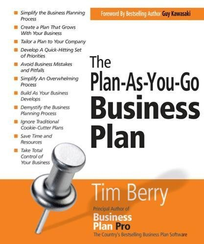 The Plan-as-you-go Business Plan (Paperback) - Common par By (author) Timothy Berry