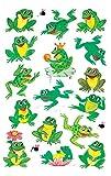 Avery Zweckform 53168 Kinder Sticker Frösche 32 Aufkleber